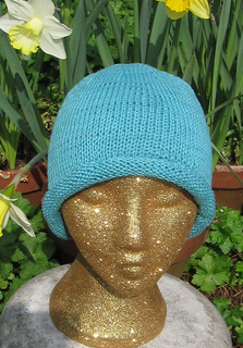 Ravelry  Simple Roll Brim Beanie pattern by Christine Grant 5ef2ccd1578