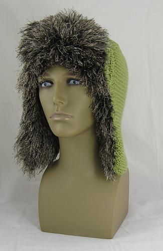 Ravelry Garter Stitch Trapper Hat Pattern By Christine Grant