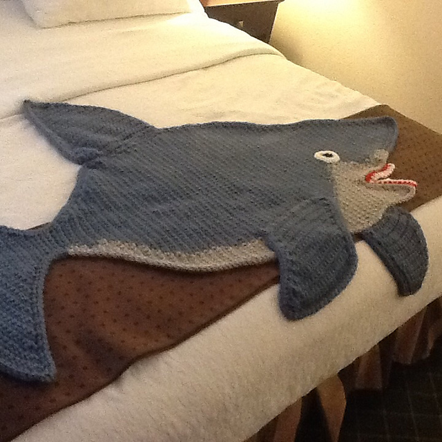 Ravelry Shark Afghan Pattern By Michele Maks