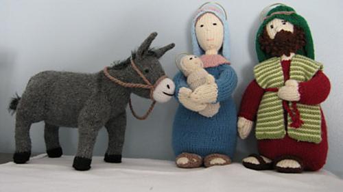 Ravelry Nativity Set Pattern By Alan Dart