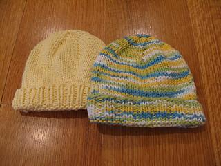 cfc94ce05a5 Ravelry  Basic Newborn Hat pattern by Jennifer Jackson