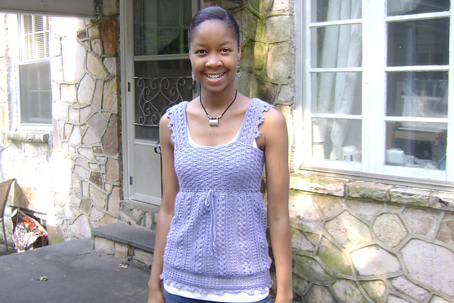 Ravelry Lace Inspired Crocheted Top Pattern By Valerie Kurita
