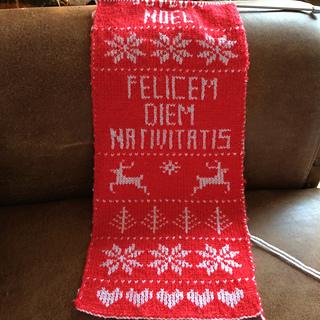 Ravelry: Fair isle Christmas Table Runner pattern by Nicolson Knits