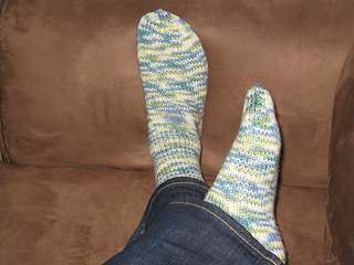 Ravelry 5 Stitches Per Inch Sock Pattern By Ann Budd