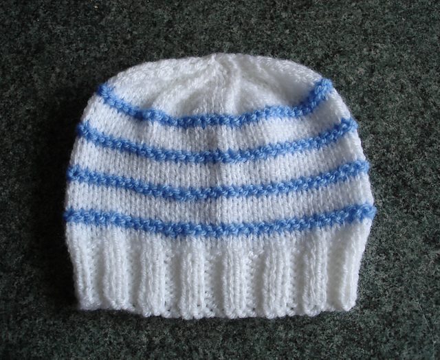 Ravelry Large Premature Small Newborn Baby Hat Pattern By