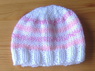 Ravelry  Easy Stripes Premature Baby Hat pattern by marianna mel fa187ad9091