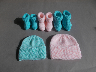 757563b5a40 Little Babbity ~ Preemie Baby Hats   Booties ...