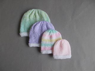 b2bcd1aedc7 Ravelry  Tiny Topaz - Premature   Newborn Baby Hats pattern by marianna mel
