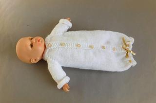 6dfeb7d78 Ravelry  Tiny Topaz Premature Baby Sleeper pattern by marianna mel