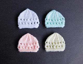 Ravelry  Jay Micro-Preemie Baby Hats pattern by marianna mel b60e41fd6d6