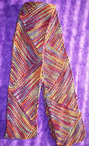 Ravelry: Short Row Multi-directional Scarf #69 pattern by Ann Norling