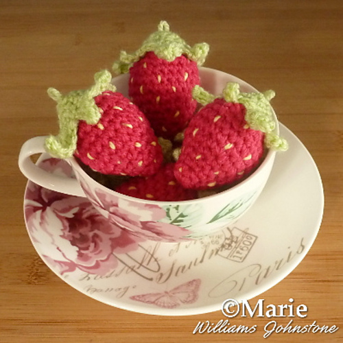 Ravelry Amigurumi Strawberries Pattern By Marie Williams Johnstone