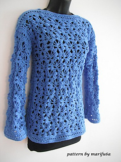 Ravelry: crochet pullover, sweater pattern for beginners pattern ...