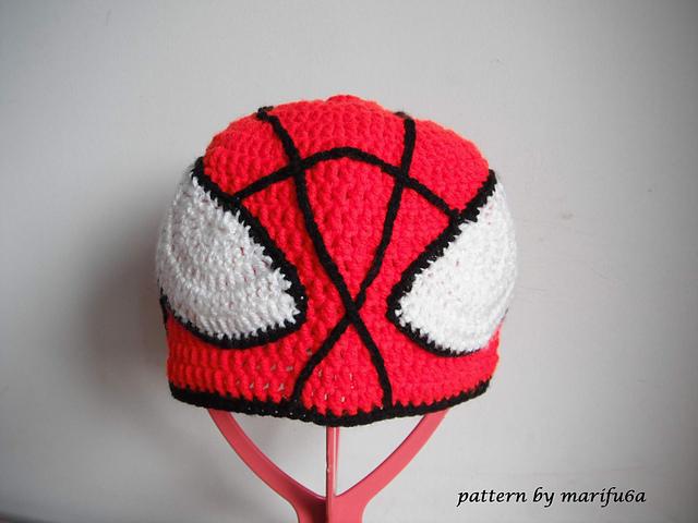 Ravelry Crochet Spiderman Hat Pattern By Marifu6a