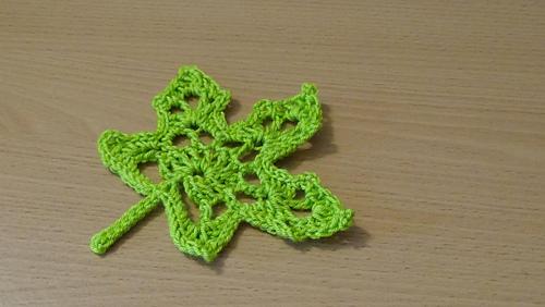 Ravelry Crochet Maple Autumn Leaf Pattern By Marifu6a