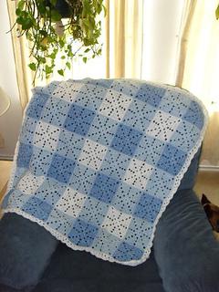 Ravelry Gingham Blanket Pattern By Bernat Design Studio