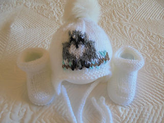 9a55c36f87b Ravelry  Baby Owl Hat And Booties pattern by Marilyn Ireland