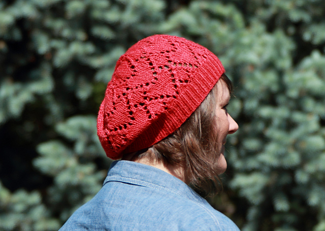 Ravelry: Ruby Red Heart Hat pattern by Kristen Ashbaugh-Helmreich