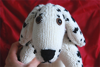 Ravelry: Dalmatian Dog pattern by Debbie Bliss