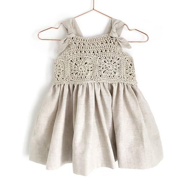 Ravelry: Vestido Granny Squares pattern by Marta Porcel