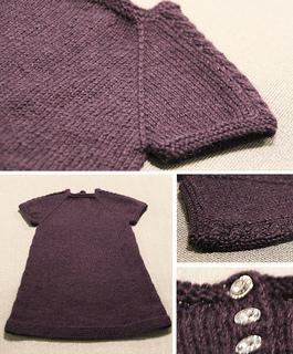 0887a417e Ravelry: Kjole med flette på skuldrene pattern by Marte Helgetun