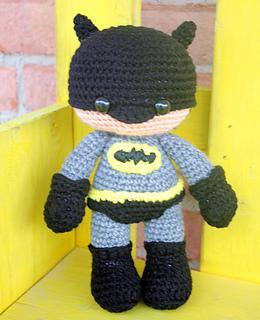 Batman Amigurumi Crochet Pattern Free : Ravelry: Batman Amigurumi pattern by Serah Basnet