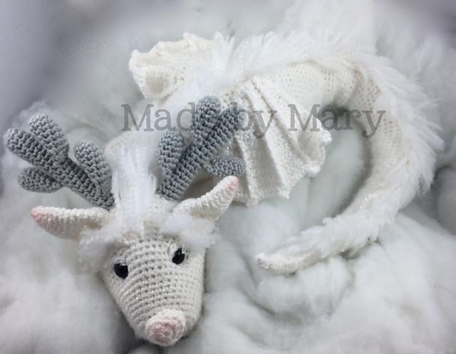 Ravelry: Winter Dragon Amigurumi pattern by Mary Smith