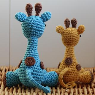 Ravelry: Amigurumi Giraffe Pattern (easy crochet) pattern ...