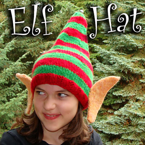 ravelry elf hat pattern by reenie hanlin