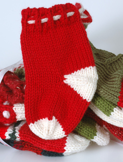 ravelry small christmas stockings pattern by lara neel - Small Christmas Stockings