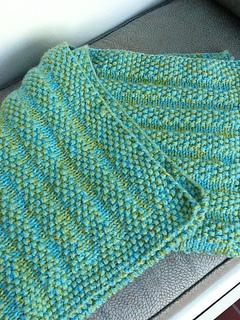 Ravelry: Hooded Baby Blanket (knit) pattern by Lion Brand Yarn