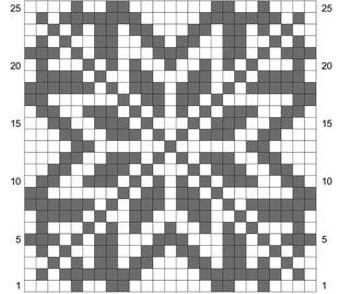Ravelry: Snowflake Chart pattern by Andrea Juhasz