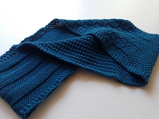 Beginner S Stitch Sampler Scarf Pattern By Kristina Tucker Ravelry