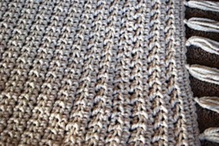 Ravelry Moss Stitch Afghan Crochet Pattern By Lion