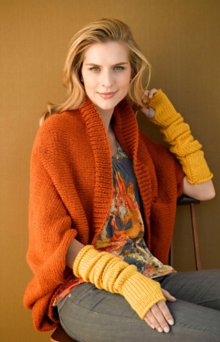 Ravelry Harvest Shrug Pattern By Lion Brand Yarn