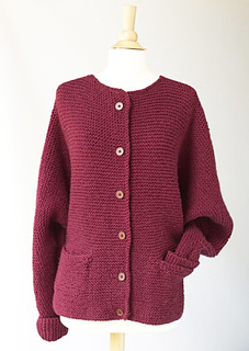 afd58281592d Ravelry  Oh-So-Simple Cardigan pattern by Lion Brand Yarn