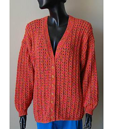 Ravelry Easy Bamboozle Lace Cardigan Pattern By Gail Tanquary