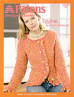 Ravelry: Patons #500209, Designer Series: Divine Decadence