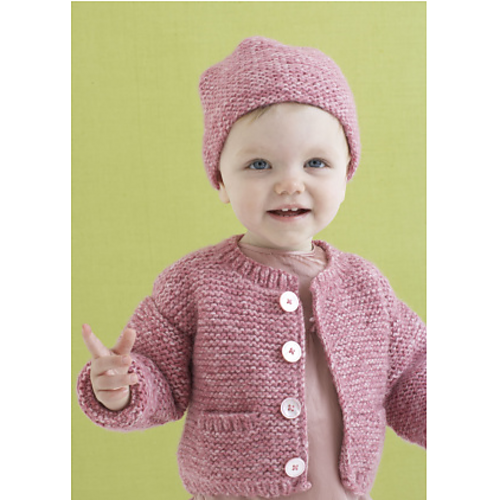 Ravelry Grace Cardi And Hat Pattern By Lion Brand Yarn