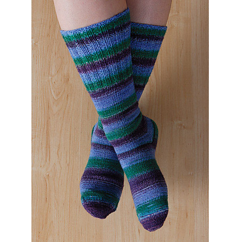 Ravelry Two At Once Toe Up Magic Loop Socks Pattern By Knit Picks