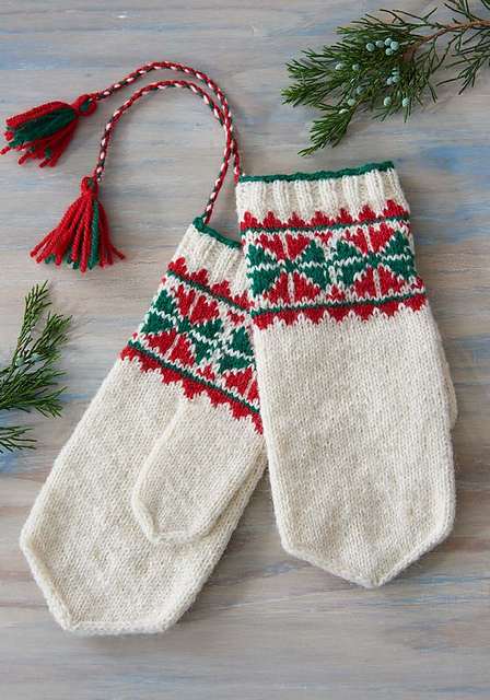 Ravelry Discover The Wonderful World Of Sami Knitting 5 Mitten