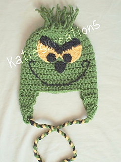 Ravelry  Dr. Seuss Grinch inspired hat pattern by Katie s Kreations d936e91f5d8