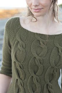 Sophie Pullover pattern by Pam Allen