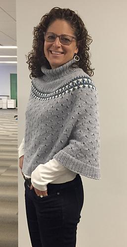 Ravelry Indigo Frost Pattern By Isabell Kraemer Stunning Crochet Poncho Pattern Ravelry