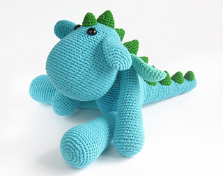 Crochet Amigurumi Dragon : Ravelry amigurumi dragon pattern by kristi tullus