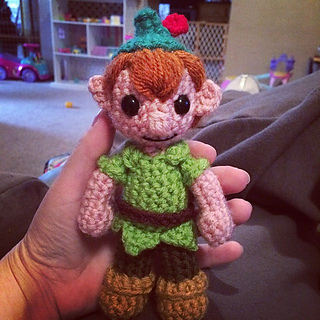 Ravelry peter pan inspired doll pattern by melissa pembrook dt1010fo