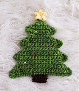 Ravelry Christmas Tree Pot Holder Crochet Pattern By Melody Rogers
