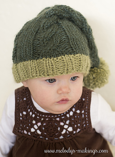Ravelry Cabled Sleep Cap Knit Version Pattern By Melody