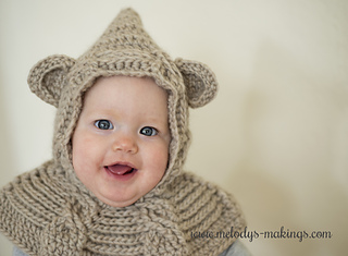 5ff1c4cc80d Cabled Bear Hooded Cowl ~ Crochet Version ...