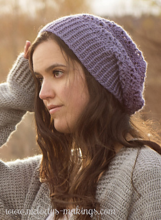 Ravelry  Wisteria Slouch Hat ~ Crochet Version pattern by Melody Rogers b2b86645473